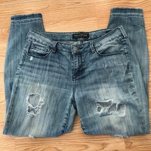 Bullhead Jeans - Bullhead denim vintage rip and repair jeans Sz 27